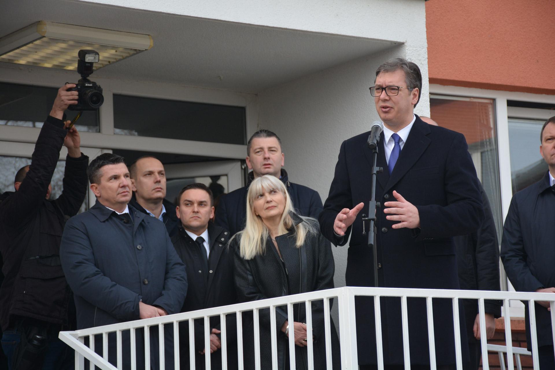 Vučić u Opovu