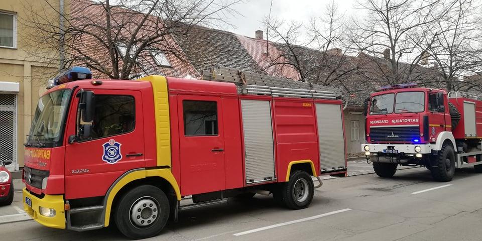 Požar u Petra Bojovića