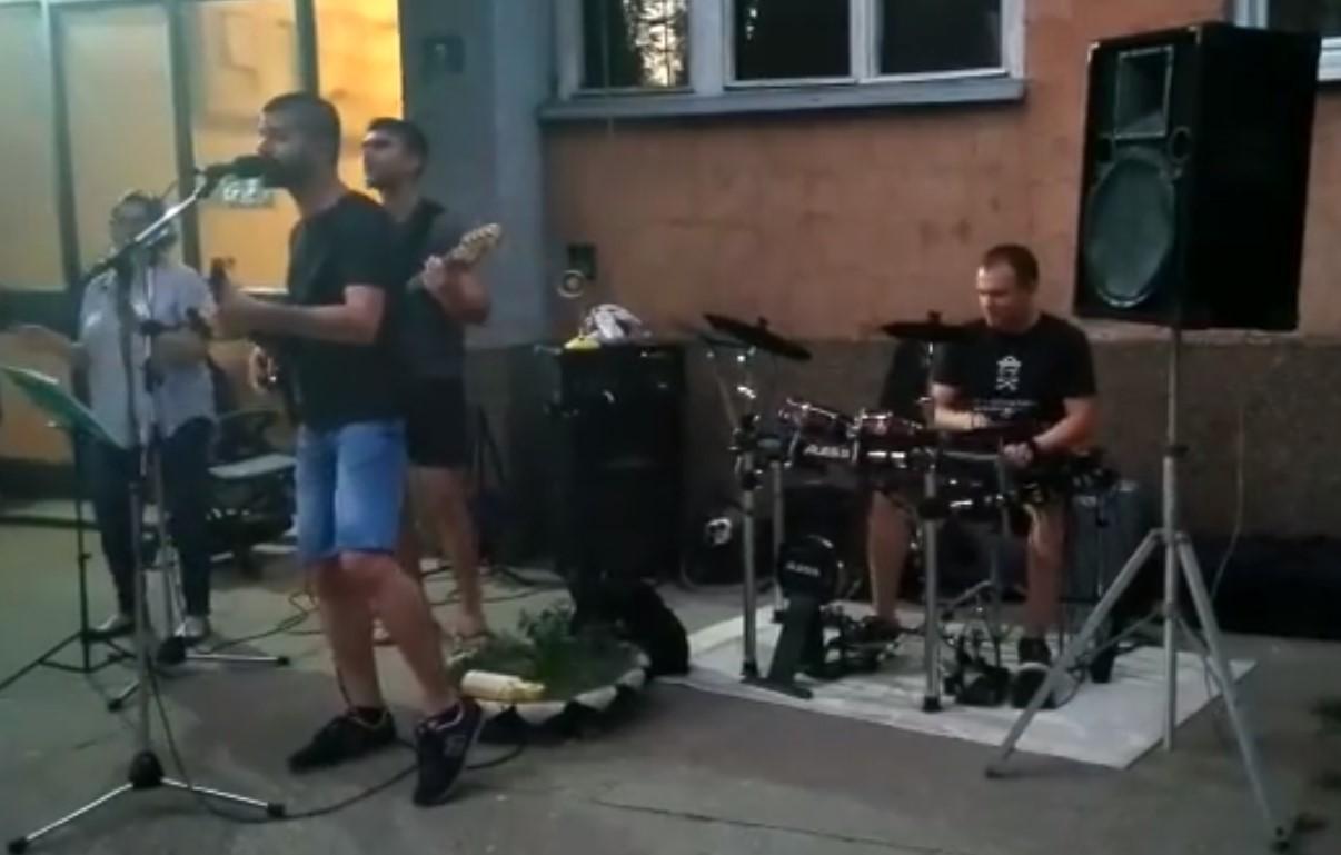 Koncert  u Šanetovoj