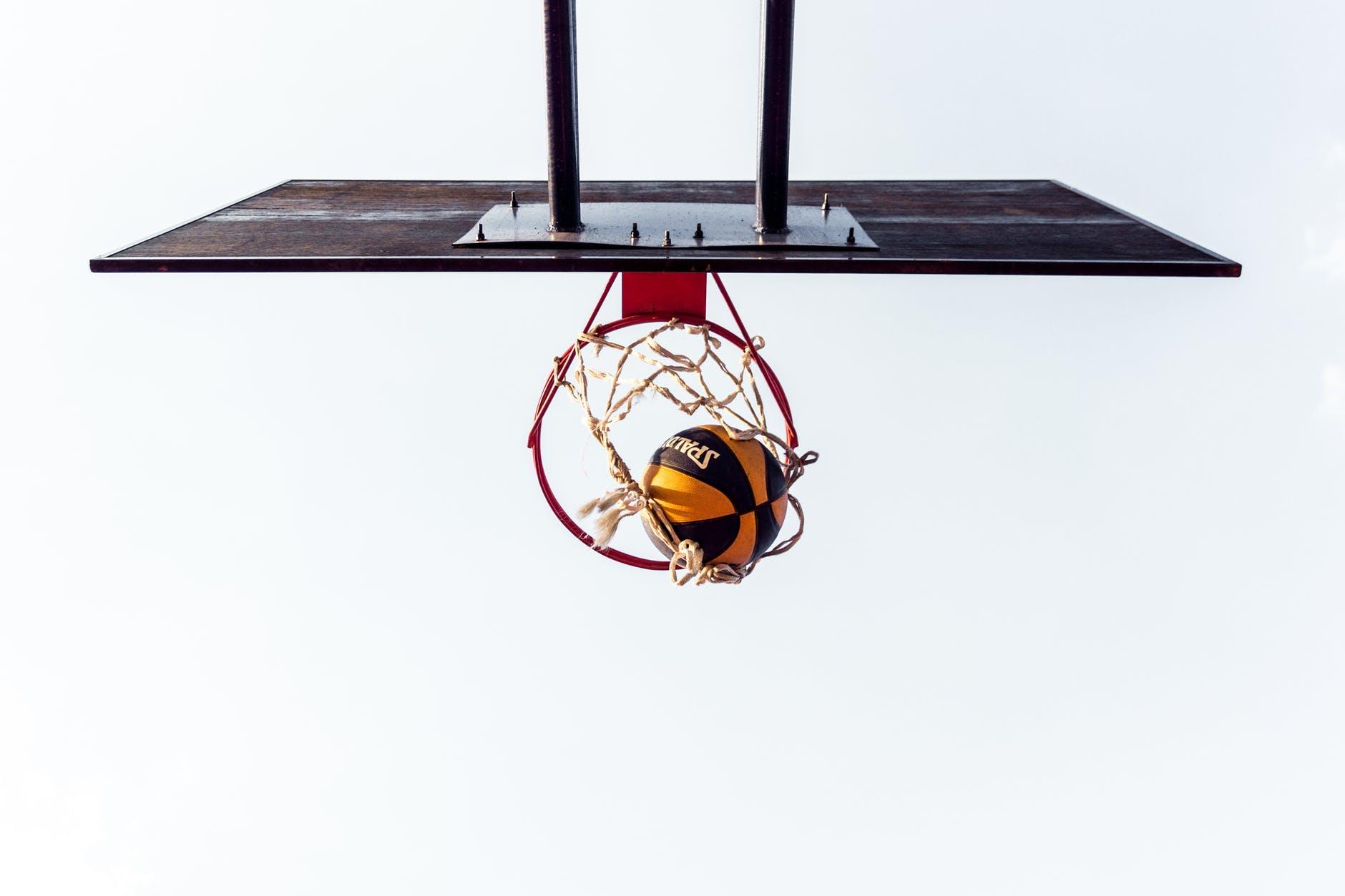Košarka lopta koš