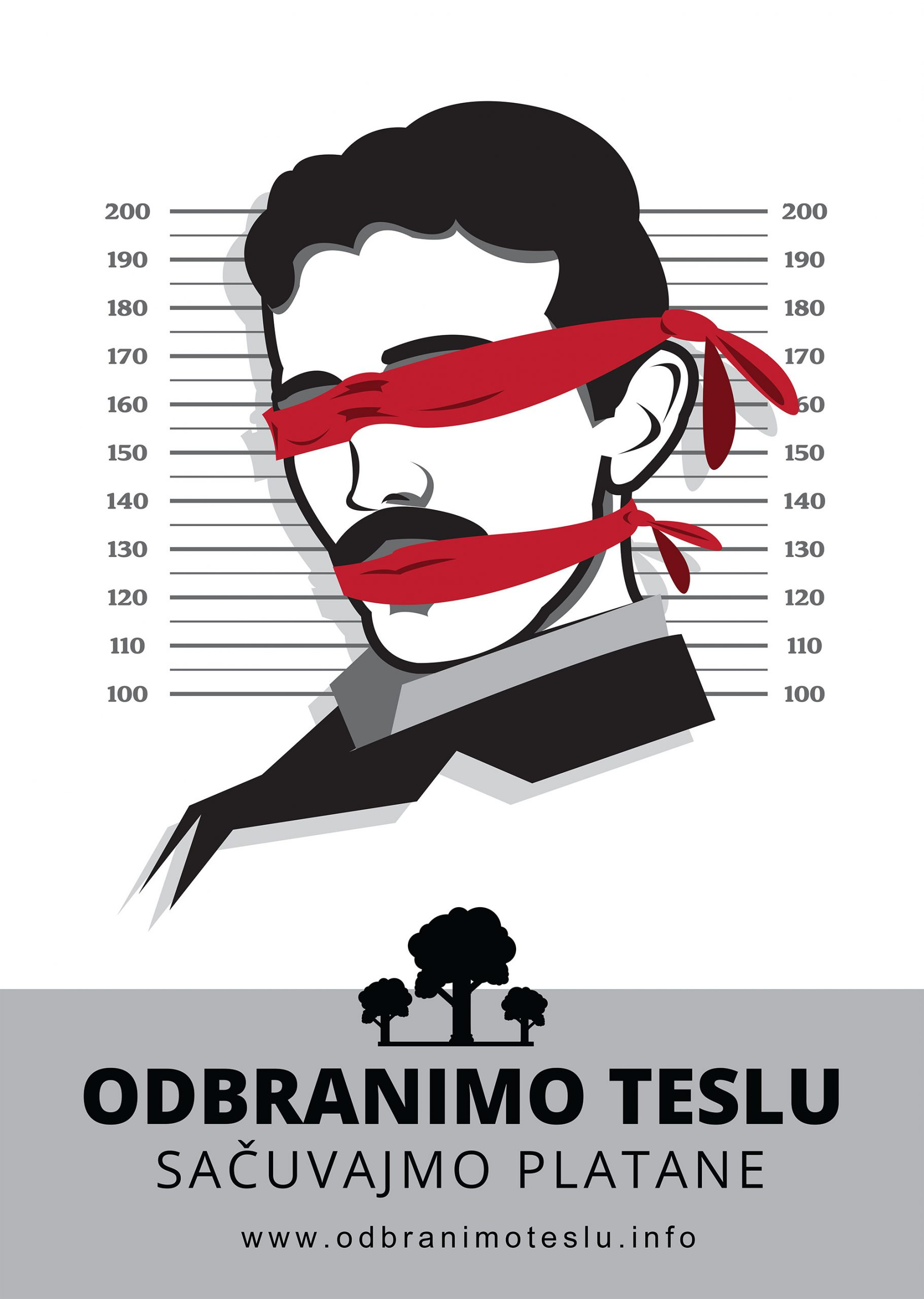 Odbranimo Teslu plakat