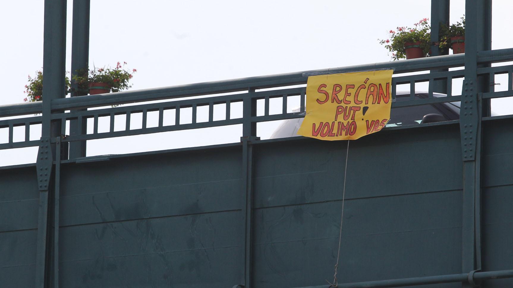Poruka na mostu