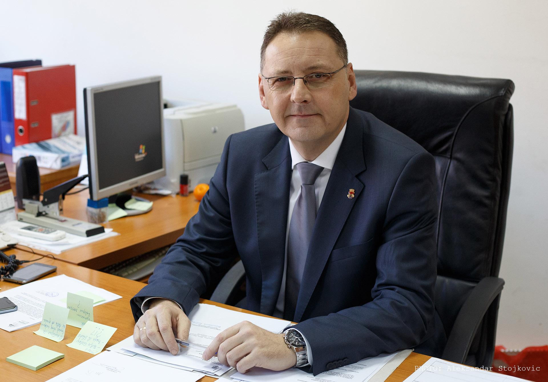 Gradonačelnik Pančeva, Saša Pavlov