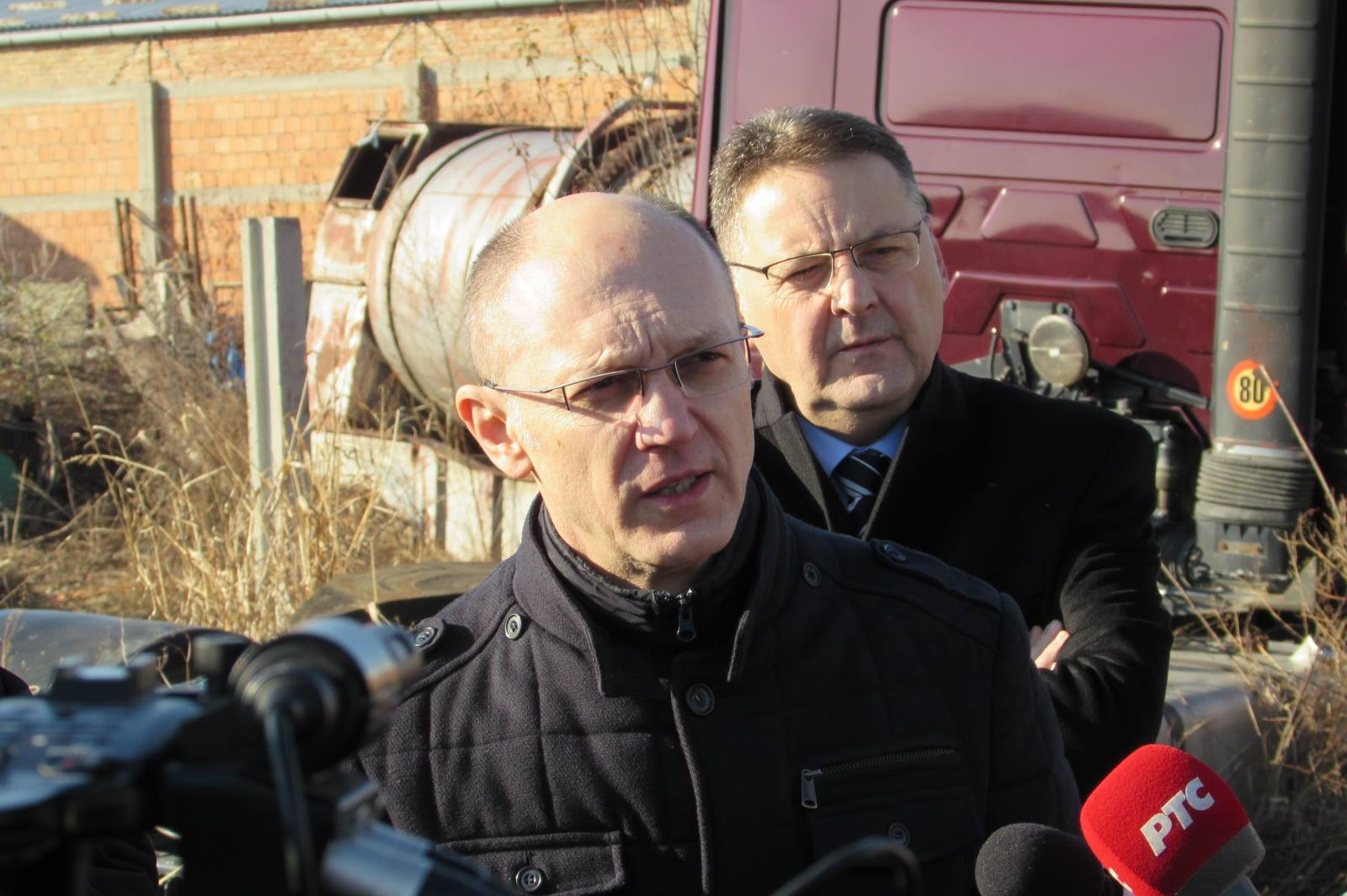 Ministar Goran Trivan i gradonačelnik Saša Pavlov