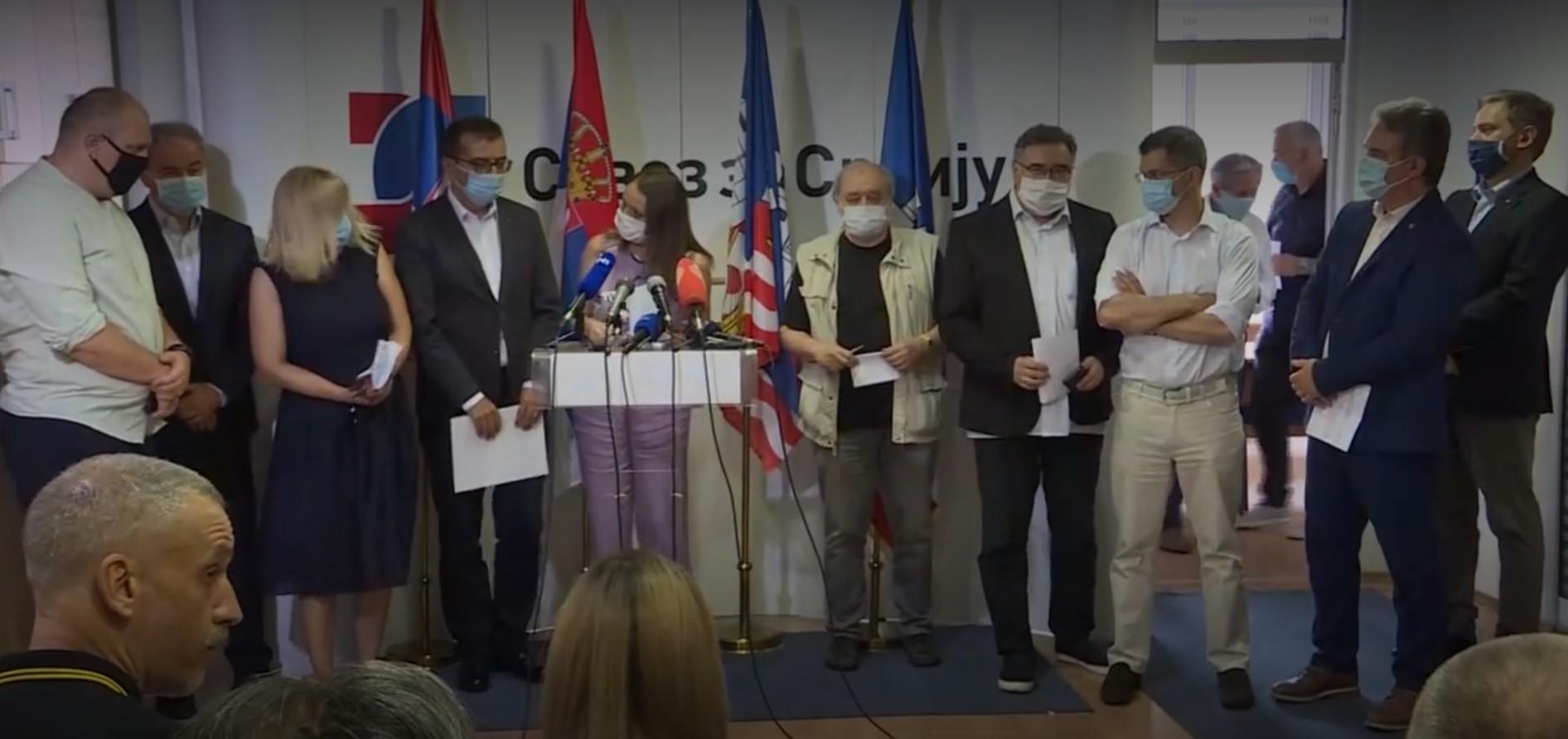 Udružena opozicija Srbije