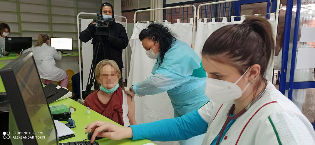 Vakcinacija u Pančevu