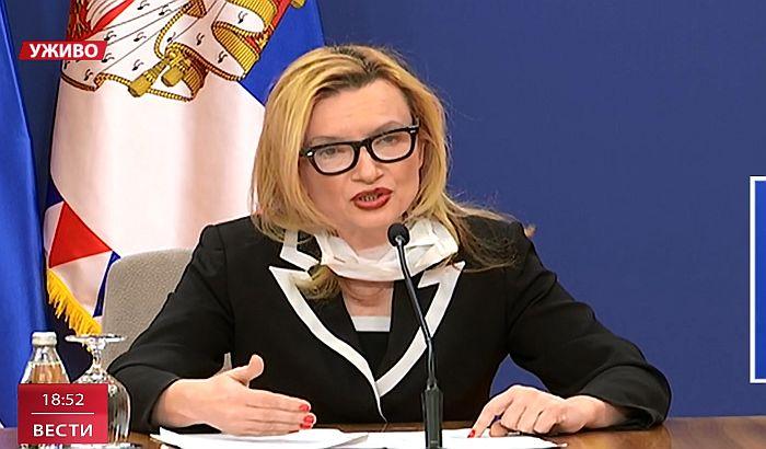 """Direktorka Instituta """"Batut"""" Verica Jovanović"""
