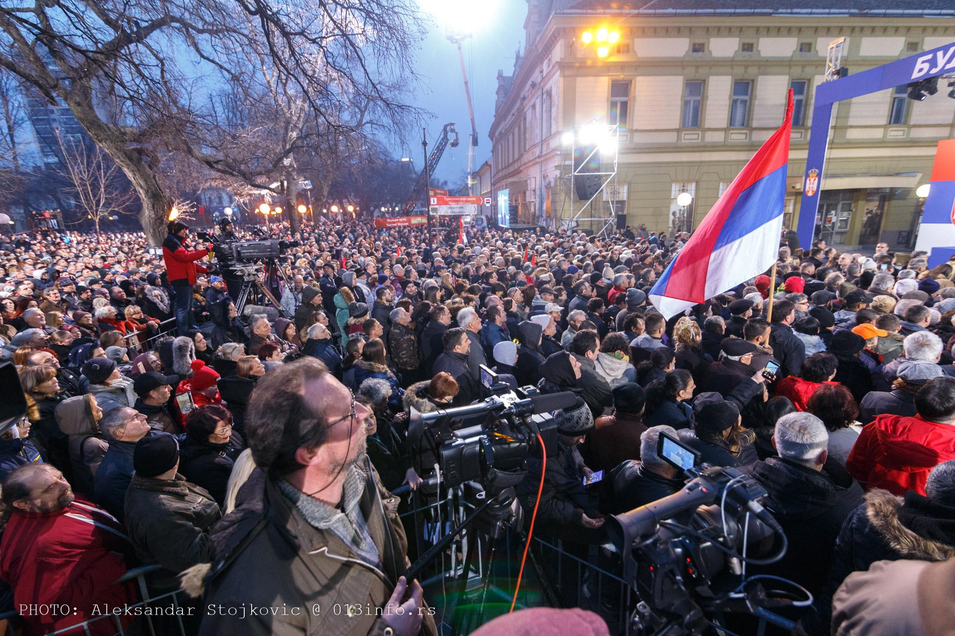 Vučić u Pančevu