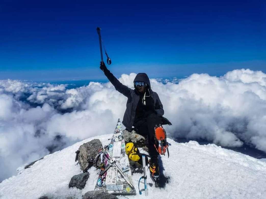 Nataša Rajkov na Elbrusu