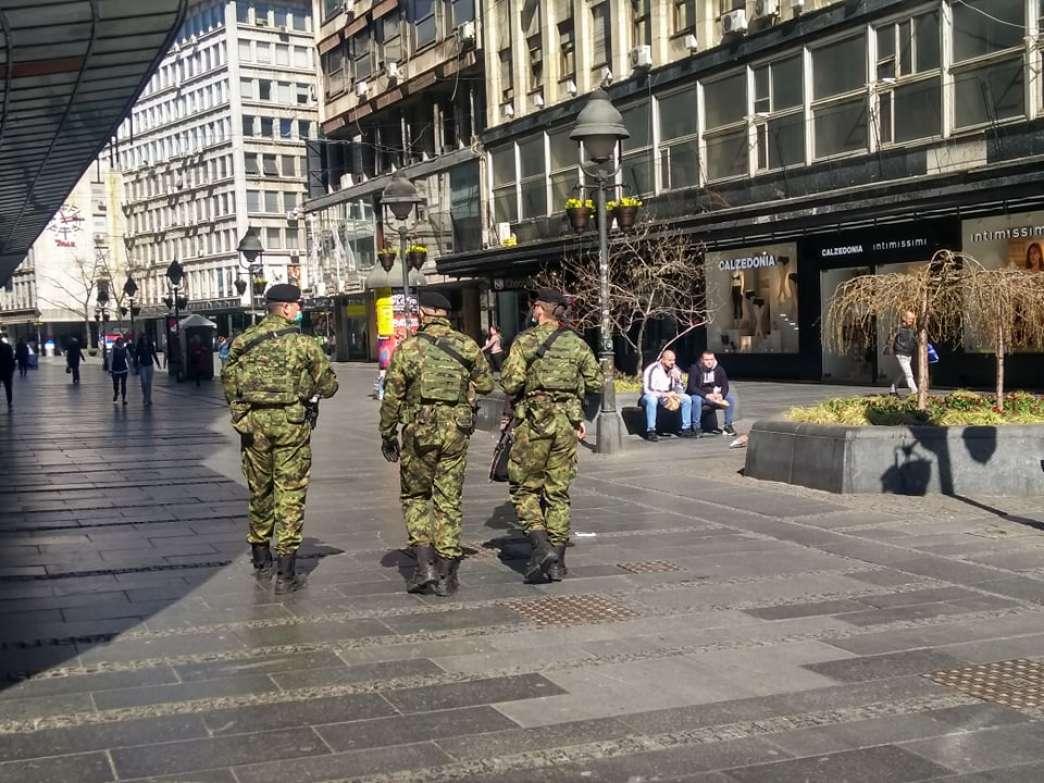 Vojska u Knez Mihailovoj