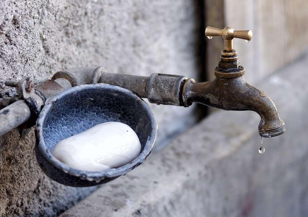 Slavina sapun i voda
