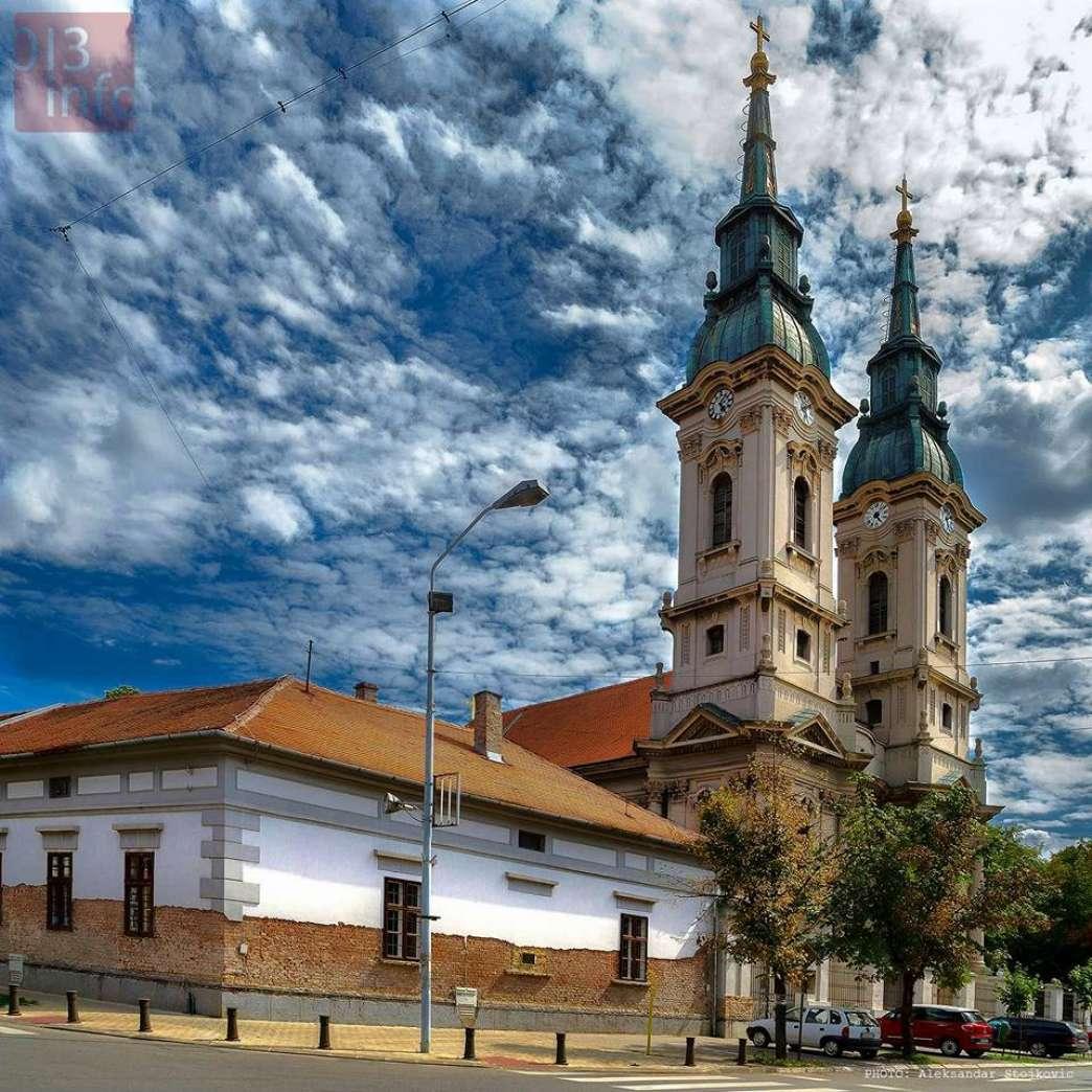 Uspenski hram Pančevo Crkva s dva tornja