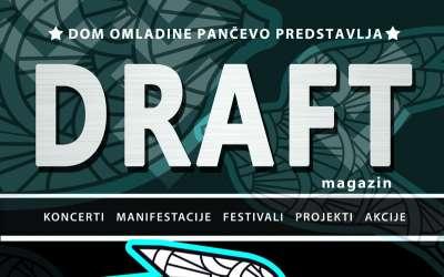 Naslovna strana jedanaestog Draft magazina