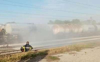 Vatrogasci inervenišu na železničkoj stanici Pančevo Varoš