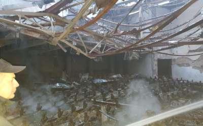 Požar u Domu kulture u Padini