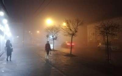 Magla smog Pančevo