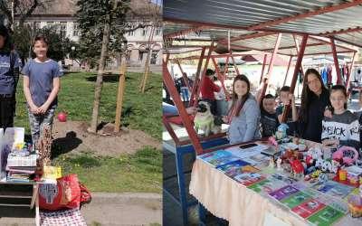 Klinci iz Abraševića humanitarna prodaja