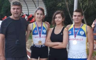 Takmičari Dinama u Sremskoj Mitrovici