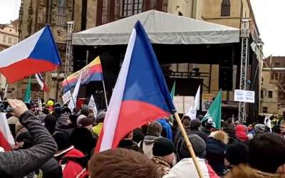 Češka protest