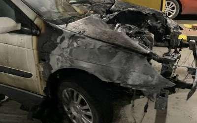Automobil koje je eksplodirao u Maksiju