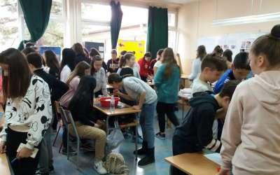 Festival nauke u školi Stevica Jovanivuić u Pančevu