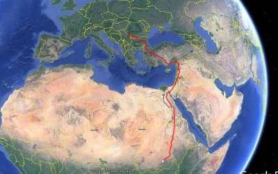 Gugl mapa