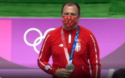 Damir Mikec medalja