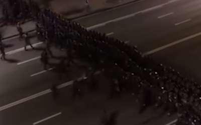 Minsk protest