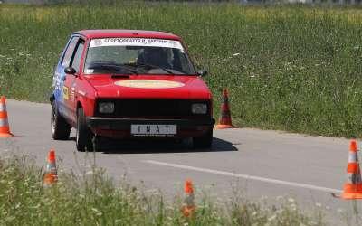 Nikola Alimpić u vožnji