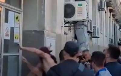 Nasrtanje na zgradu RTV