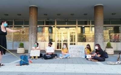 Protest Pančevo petak