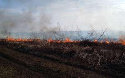 Požar u peščari