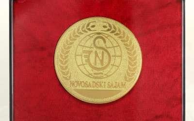 Zlatna medalja Novosadskog sajma
