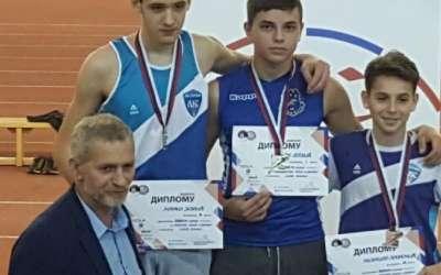 Stefan Lazić na pobedničkom postolju