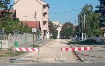 Radnička ulica na Kotežu