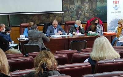 Sednica komisije za planove