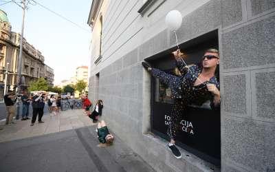 """ULUS - Otvorena izložba """"To se nije dogodilo"""" sekcije proširenih medija ULUS u Bioskopu Balkan"""