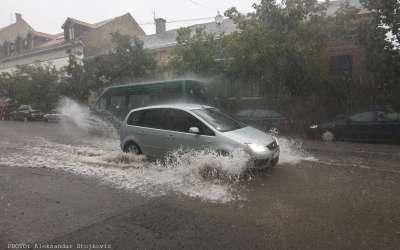 Kiša u Pančevu 2018